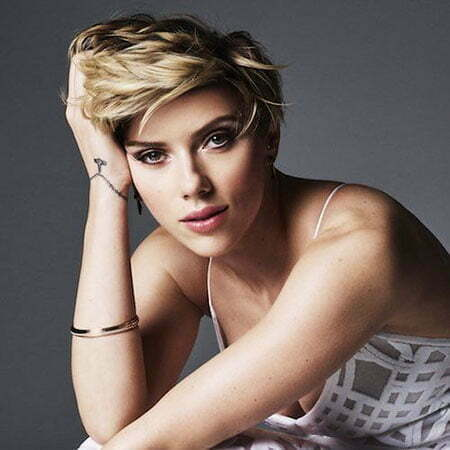 2017 Scarlett Johansson Hair