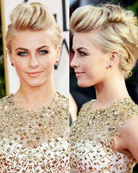 Faux Hawk Updo for Short Hair, Updo Celebrity Hair One