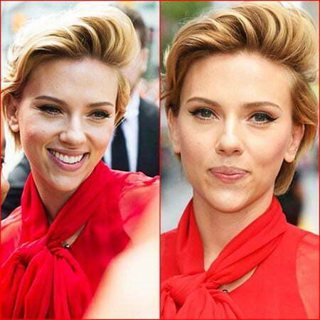 Classy Blonde Hair, Scarlett Johansson Makeup Johansson