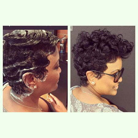 Pixie Cut Black Girl