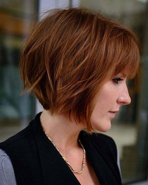 40 Short Layered Haircuts 2018