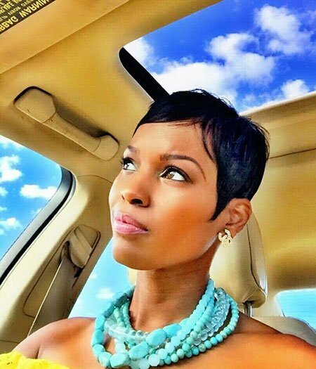 Pixie Hair Cut for Black Hair