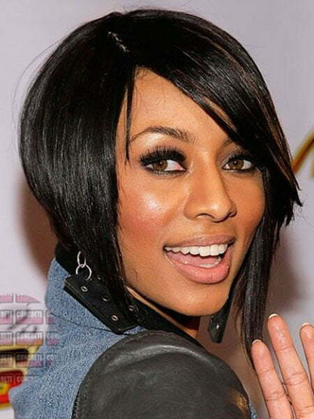 Relaxed Short Bob, Bob Hair Keri Hilson