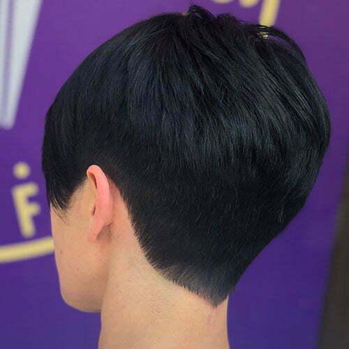 Layered Pixie Hair