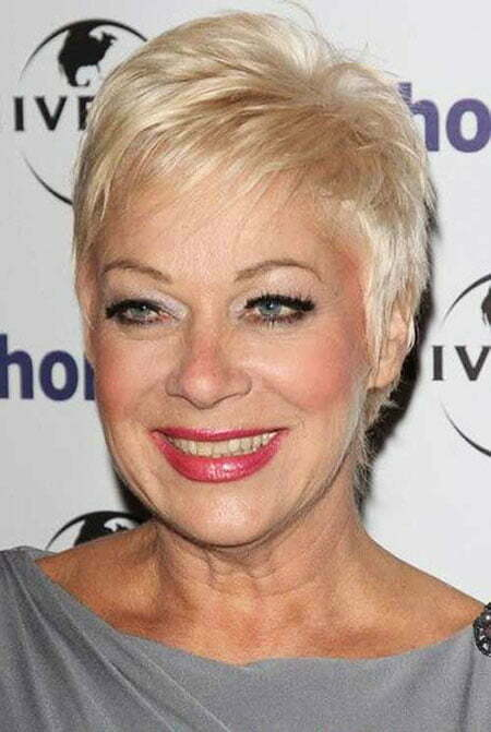 Pixie Crop for Older Women, Short Pixie Hair Over