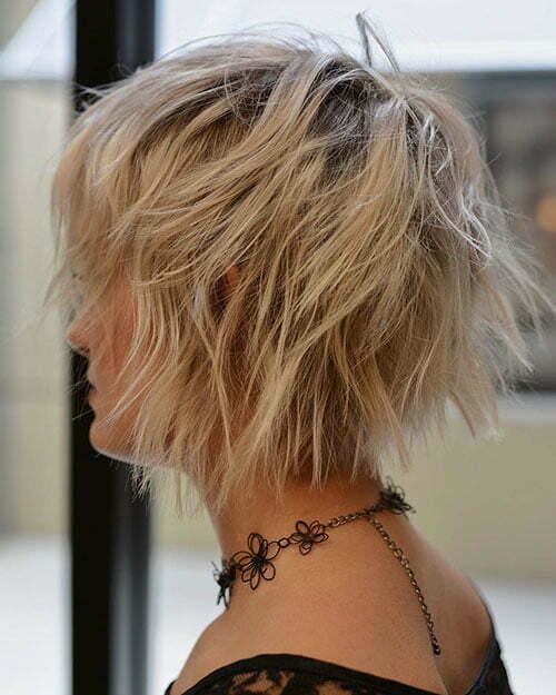 Short Cute Layered Hair