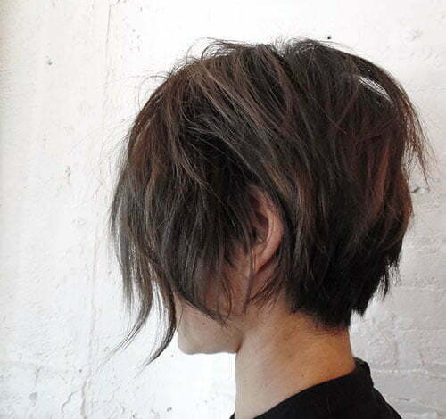 Short Layered Shag Haircut 2018