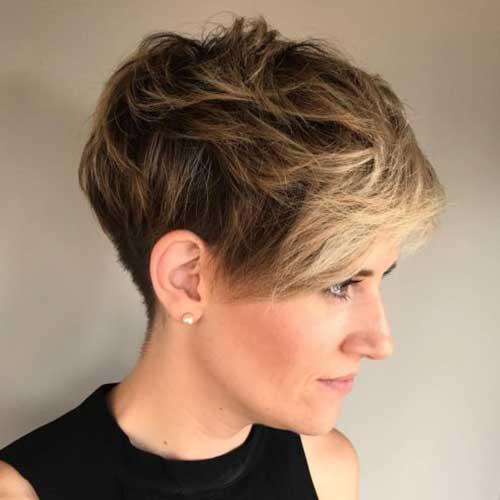 Kurze Haarschnitte für Frauen-6 &quot;title =&quot; 6. Kurze Haarschnitte &quot;/&gt;</a></p><h2>7. Pixie Hair Cut für Mädchen</h2><p> <a href=