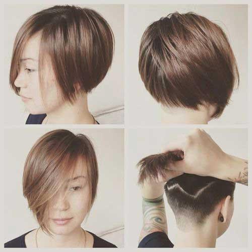 Fine Short Haircuts-6