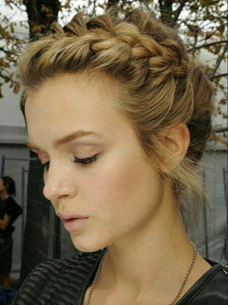 Braided Hairtyles Updo Hair