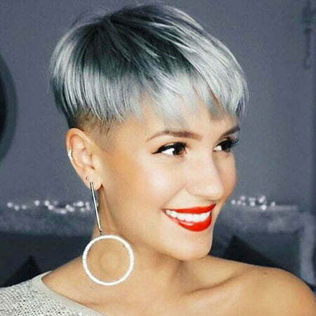 Hair Pixie Blonde Short