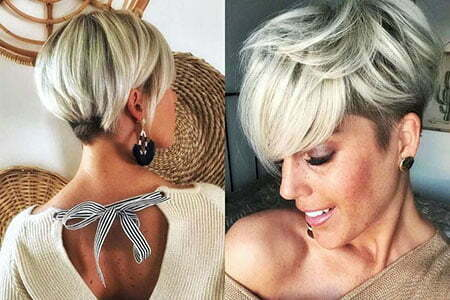 Pixie Short Hair Blonde