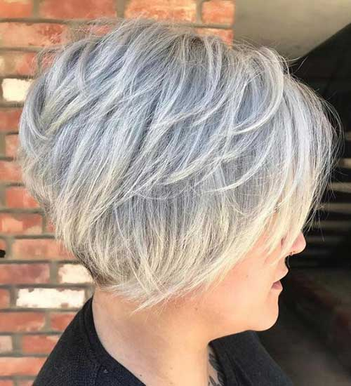 Stacked Short Haircuts-8 &quot;title =&quot; 8.Stacked Short Haircut &quot;/&gt;</a></p><h2>9. Long Bang Pixie Cut</h2><p> <a href=