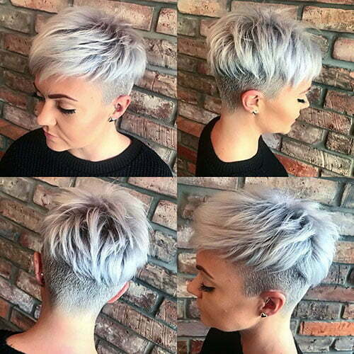 Straight Layered Pixie Hair