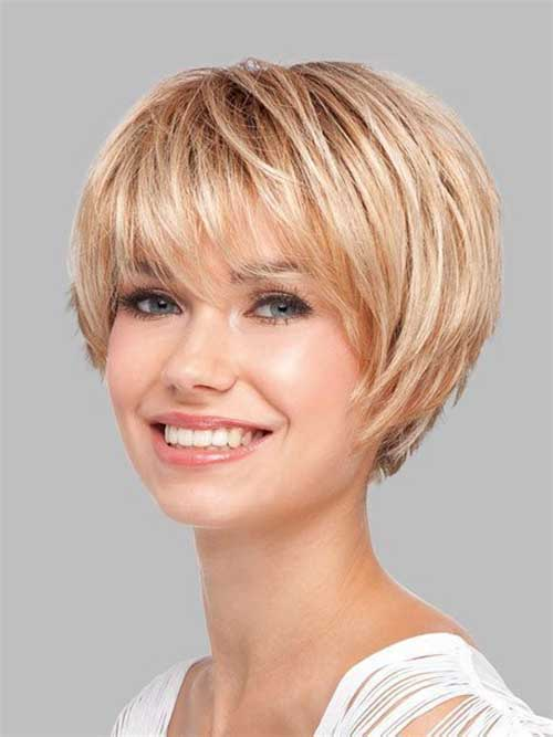 Latest Short Hairstyles With Fine Hair