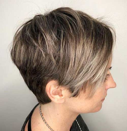 Stacked Short Hairstyles