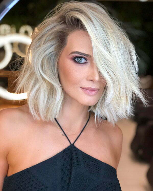 Hot Blonde Short Hairstyles