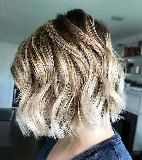 Wavy Bob Hairstyles 2019