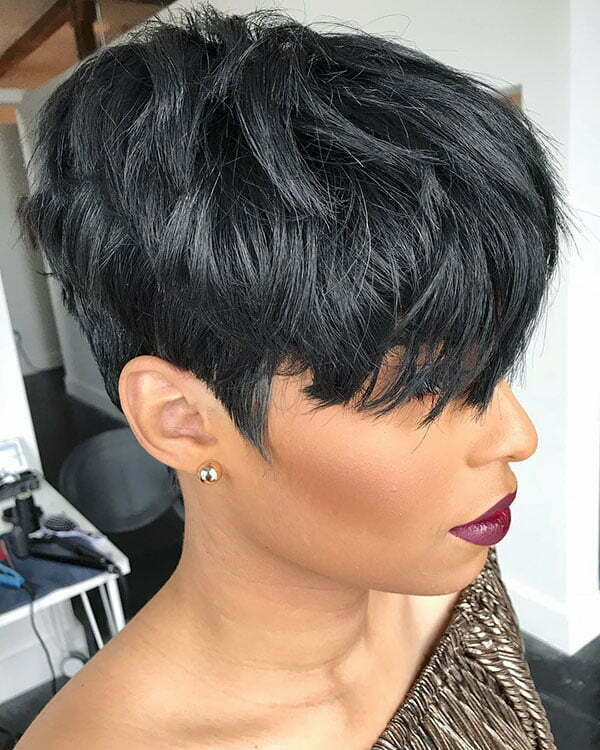 Short Hairstyles 2019 Black Female All About Style
