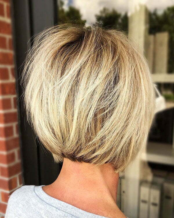 Back View Short Haircuts For Women