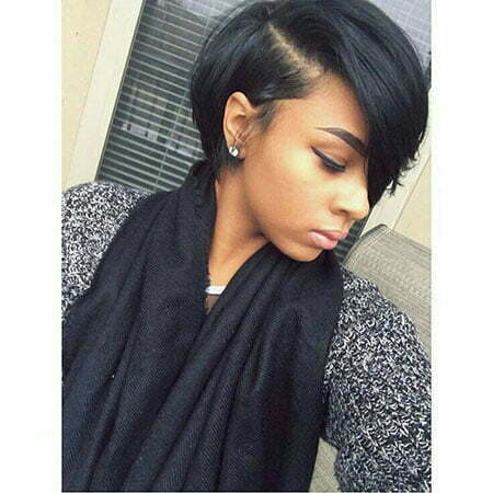 Short Bob Hair Black