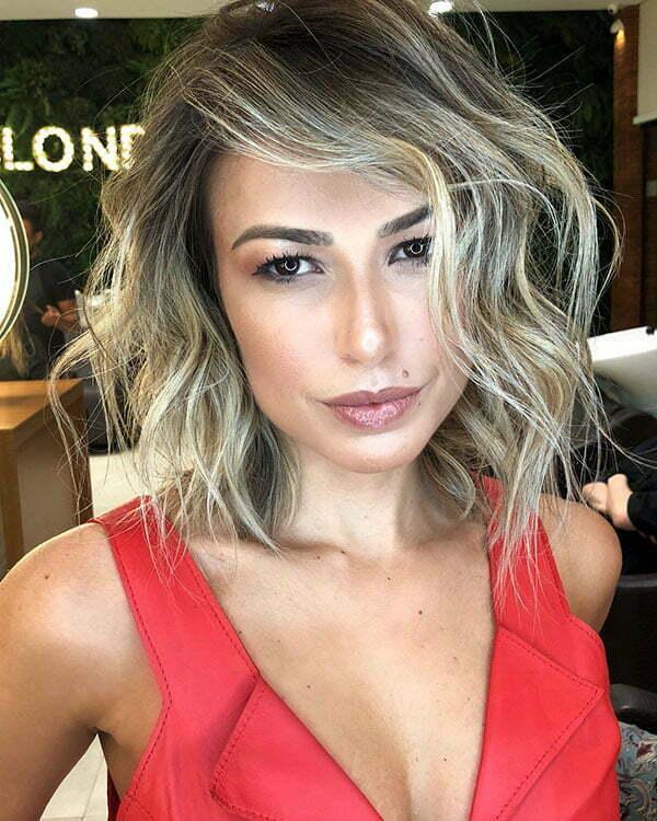 Wavy Short Hairstyles 2019
