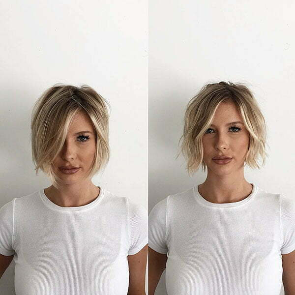 Blonde Cute Short Hair