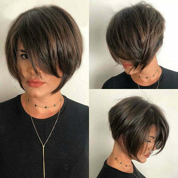 Fashionnfreak Short Hairstyles 2019 With Bangs