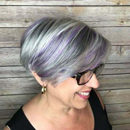 Gray Pixie Bob Hair