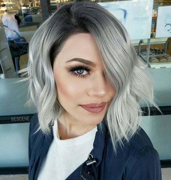 Hot Silver Hair