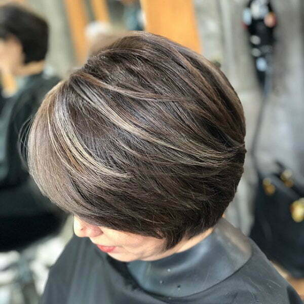 Short Thick Hairstyles Female