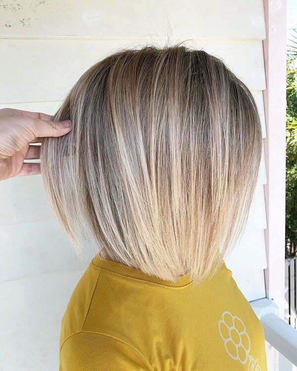 Blonde Short Hair For Women