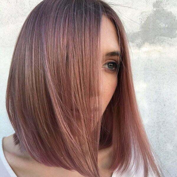Straight Bob Hair 2019