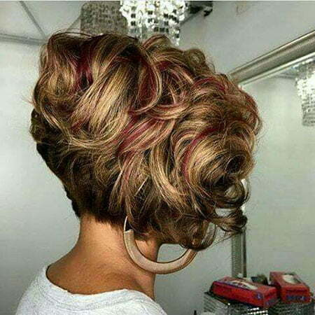 Short Curly Bob Hairstyle 2019