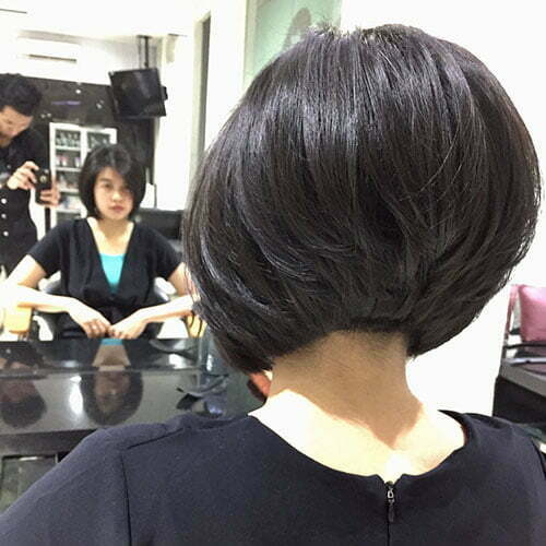 Short Layered Bob Haircut 2018
