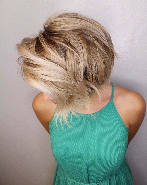 Cute Blonde Short Haircuts