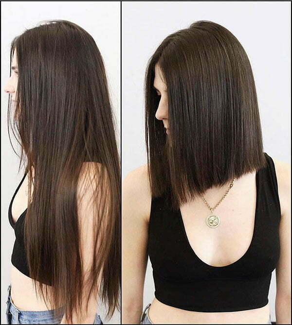 Medium Length Straight Haircuts