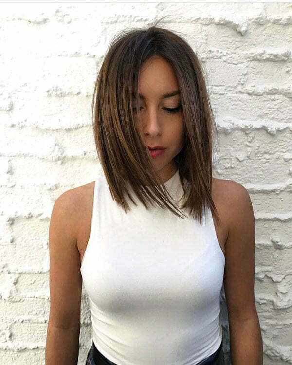 Trendy Short Straight Hairstyles
