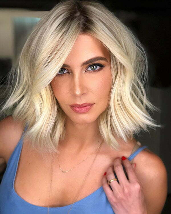 Hot Short Blonde Hairstyles