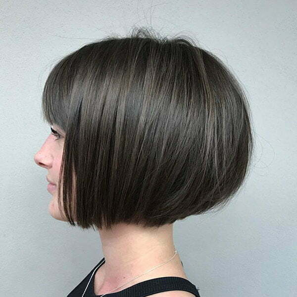 Thick Short Hairstyles For Women