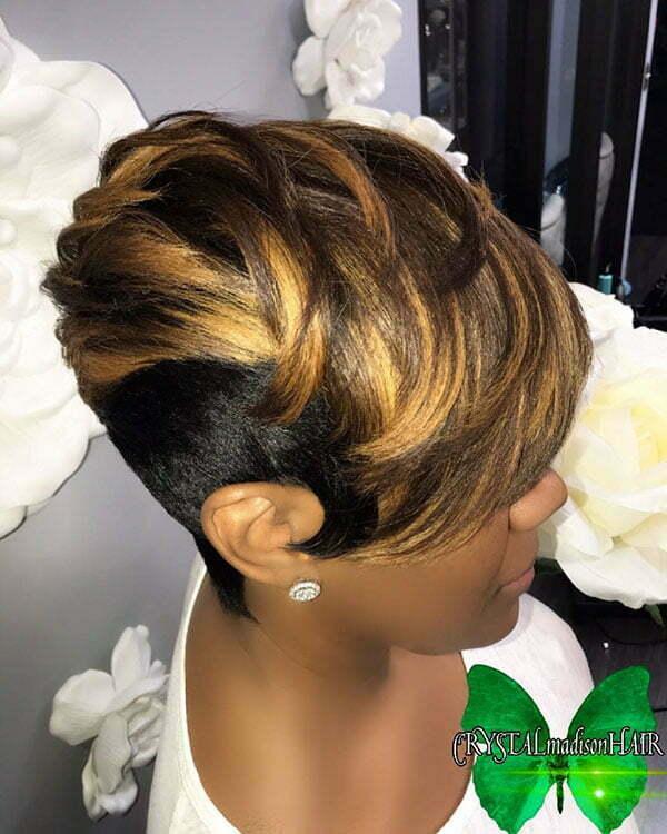 Short Blonde Hair For Black Women