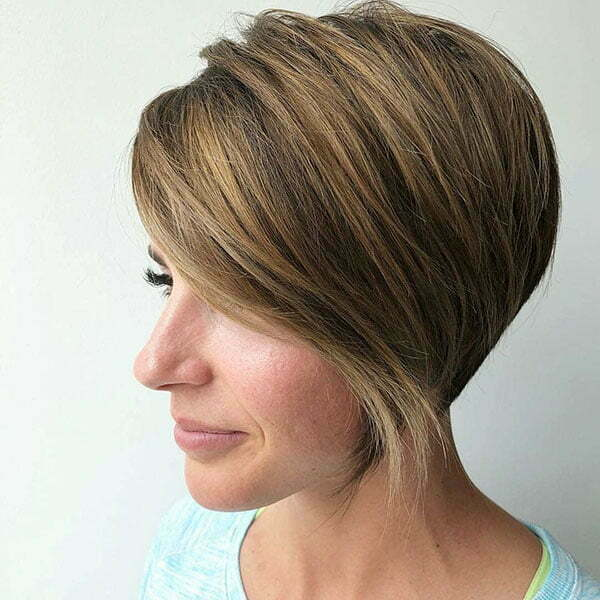 Cute Asymmetrical Short Haircuts