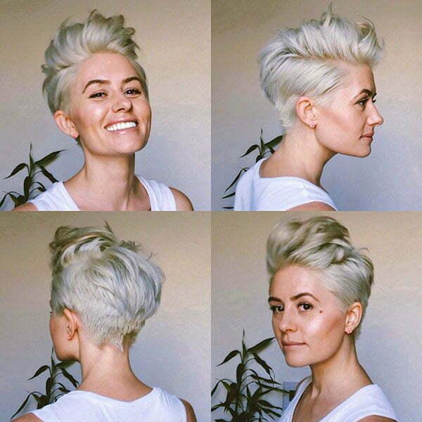 Blonde Pixie Cut 2019
