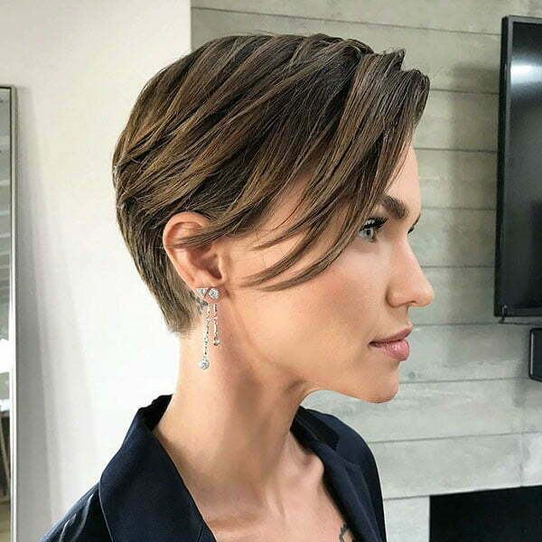 Trendy Long Pixie Cuts