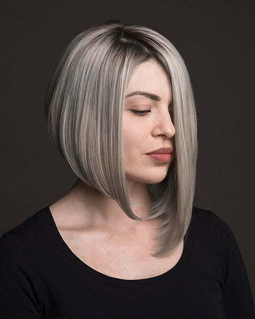 Asymmetrical Bob Haircut 2018