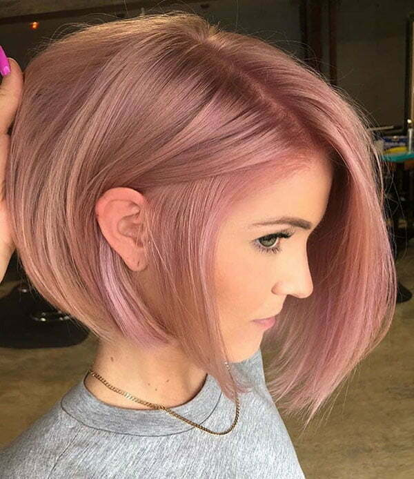 Cute Blonde Bob Hair 2019