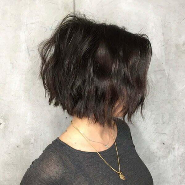 Short Wavy Bob Hairstyles 2019