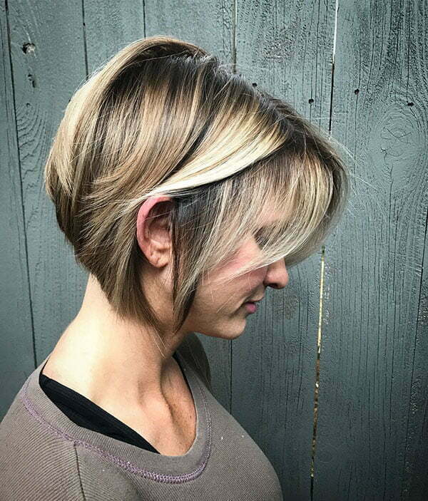 Gold Blonde Short Hairstyles