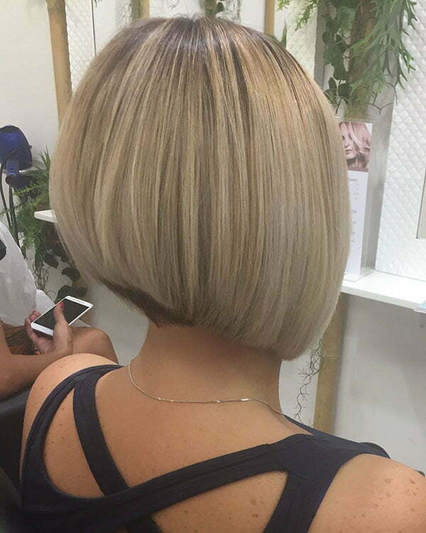 Short Bob Hairstyles 2019 Back View