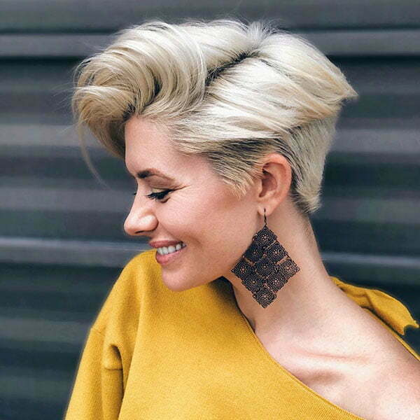 Blonde Pixie Hairstyles 2019